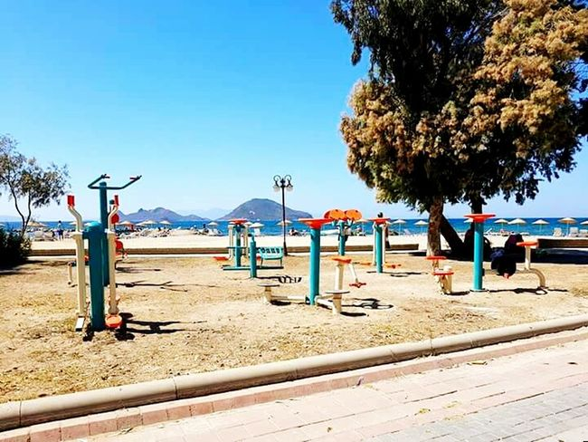 Clear Sky Blue Tranquil Scene Sky Park Beauty In Nature Person Remote Park - Man Made Space Turgutreis  EyeEm Team Turgutreis  EyeEm EyeEm Best Shots Hello World History EyeEm Gallery First Eyeem Photo Eyeemcolours