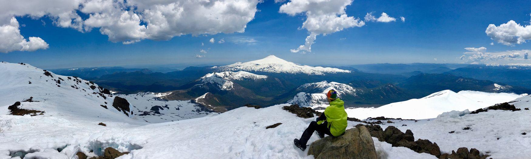 Lost In The Landscape Chili  VilaRica Snow