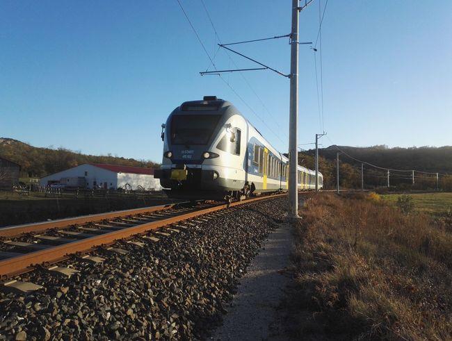 A vonat.