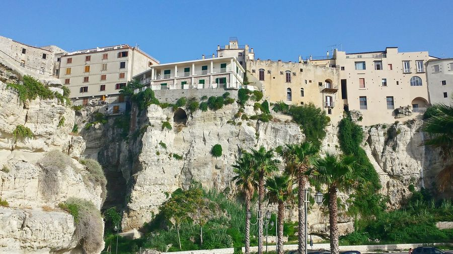 Tropea Cliffs Tropea Houses At Cliff Edge Houses And Homes Palm Trees Acient Town Ancient Beauty Cliff View Cliffs Cliff Cliff Edge Cliffside From Below From A Low Angle Looking Up Tropea Cliff Towards Houses Palm Tree Groups Ladyphotographerofthemonth Landscape Landscapes Landscape_photography Traveling