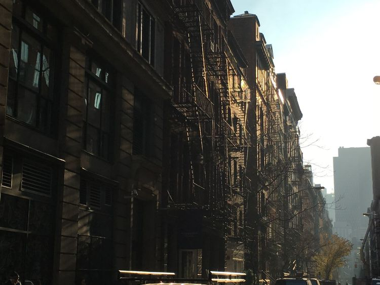 New York Bowery Streetview The Purist (no Edit, No Filter) Buildings Evening Sun The Architect - 2016 EyeEm Awards