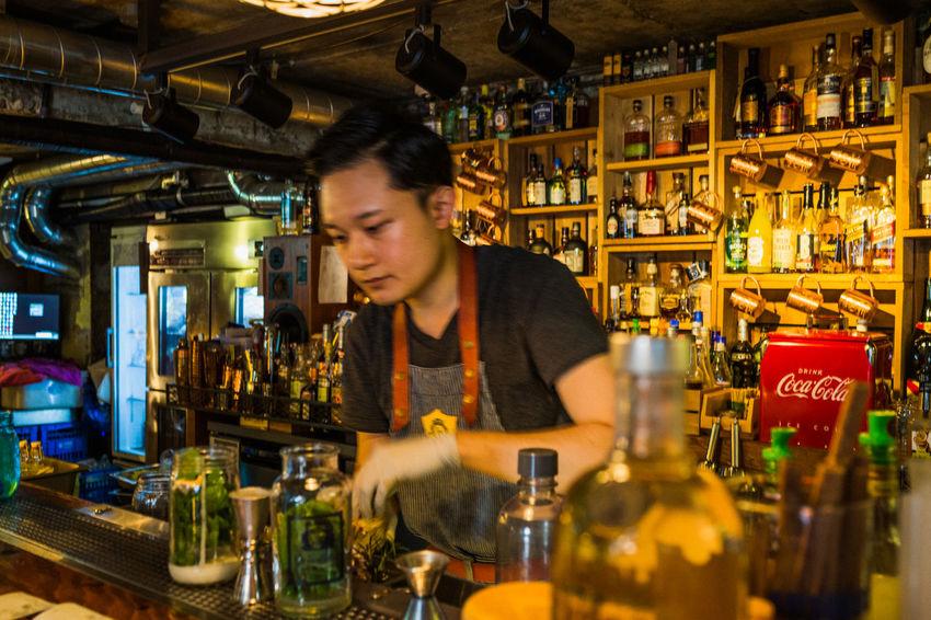 Alcholic Beverage City Life Drinking EyeEm Korea Itaewon Mixologist Mixology Mojito! Onthebar Pub Seoul, Korea