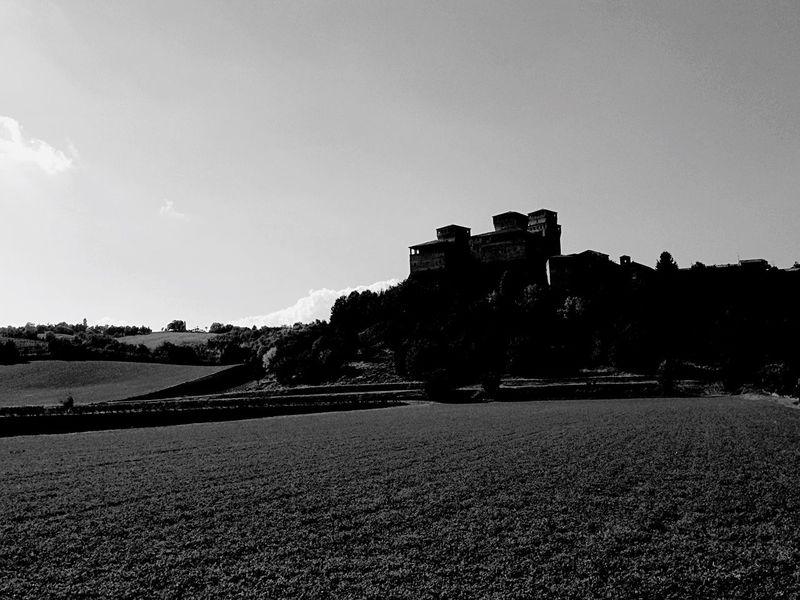 A castle in the lightsun