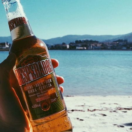 Desperados Summer Drink Water Alcohol Bottle Food And Drink Sea Nature Relax Beach