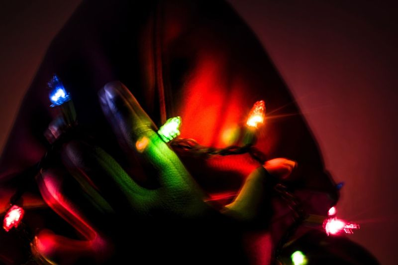 Mental Chaos One Person Lifestyles Music Leisure Activity Real People Night Nightlife Indoors  Illuminated Nightclub Event Close-up Human Hand Lights Colorful People Denver,CO Denver Colorado  Light Effect Multi Colored Adult Transman Trans Human Body Part Red Color Lieblingsteil
