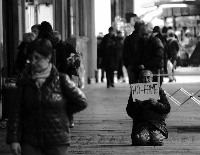 Streetphotography Blackandwhite Tramp People Turin Urban Urbanexploration Nikon D200