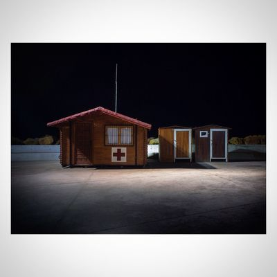 """Red Cross beach cabin"" ? Taking Photos SPAIN EyeEm Gallery The Illuminator - 2014 EyeEm Awards"