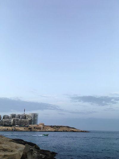 Evening View Of Sliema Sliema Maltese Seaside Sea View Malta♥ Maltaphotography Sea In Valletta