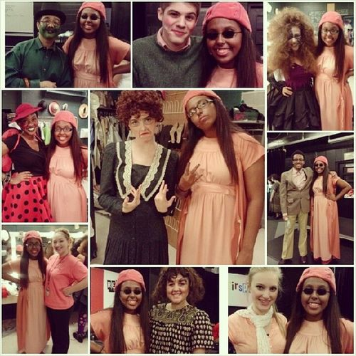Come see us tomorrow at 7 for James and the giant peach (; Jamesandthegiantpeach Berkner Theatre Wecutedoe