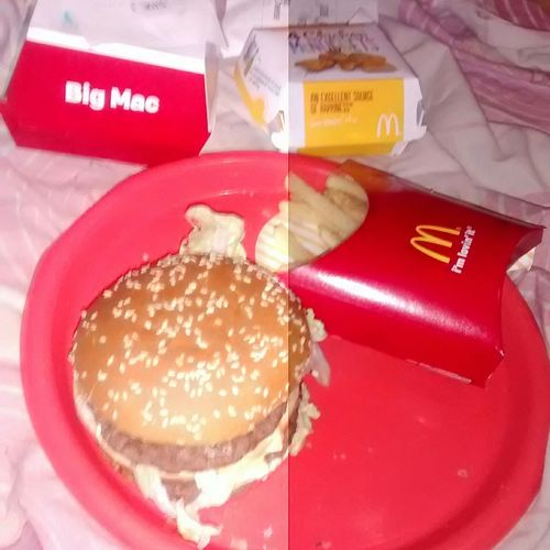 McDonald's First Bigmac Good Food In My Mouf