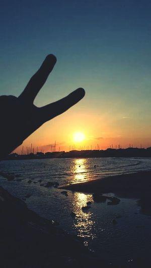 Sun ☀ Holydays 2014 Sunny Day Evening Sky