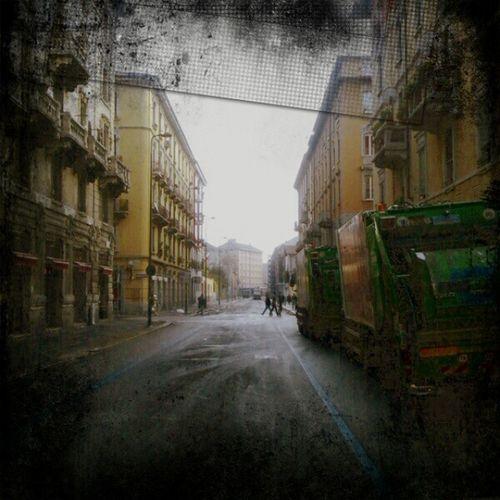 Desolae City Landscape Street milan