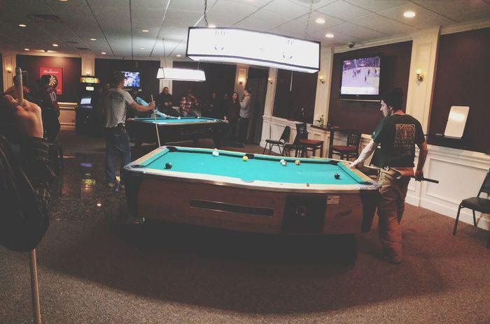 Billiards Pool Bar Scene Bar Brews Enjoying Life