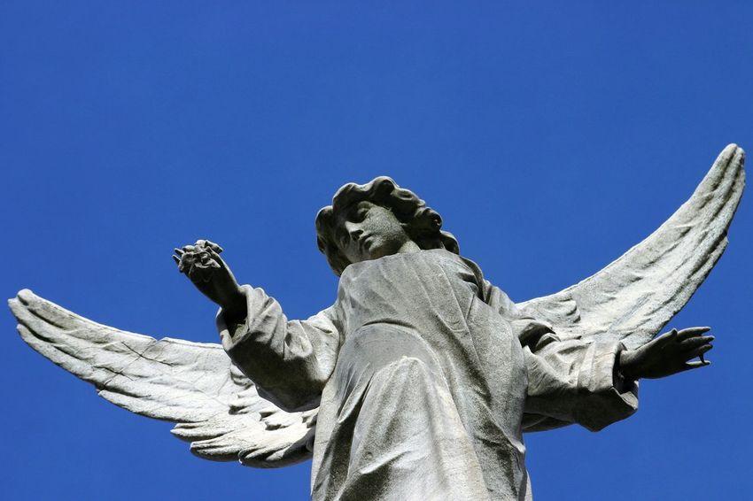 Buenos Aires, Argentina  Cementerio De La Recoleta Angel Recoleta
