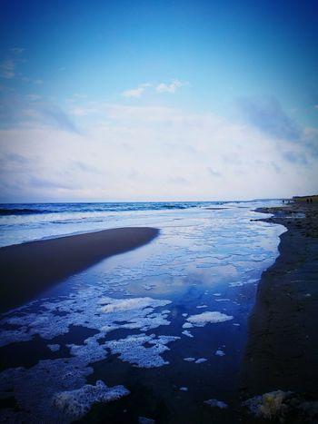 Sea Beach Water Scenics Landscape Cloud - Sky Blue Beauty In Nature