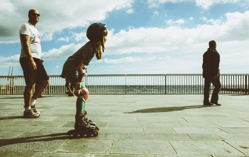 Eva Filter Streetphotography Barcelona Enjoying Life