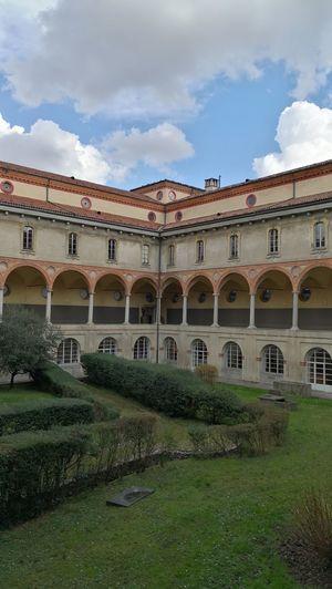 No People Museodellascienzaedellatecnica Milan Museum Architecture Convento