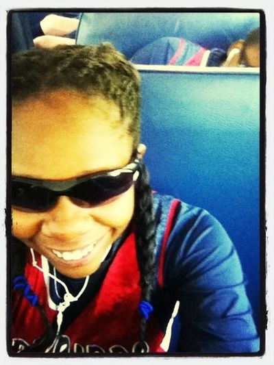 Otw to a softball game, Laughing at slow Des lol #Tbt