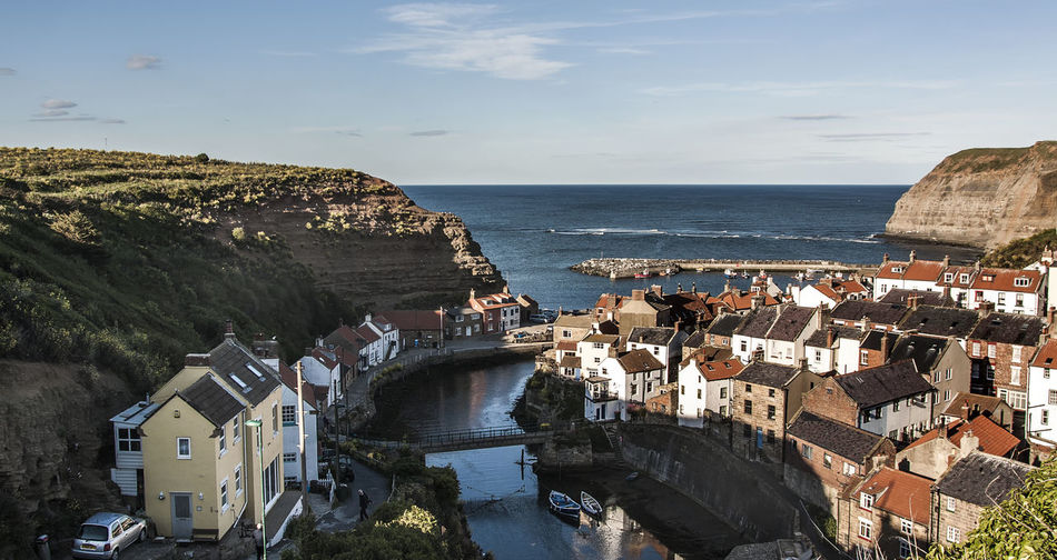 Staithes from