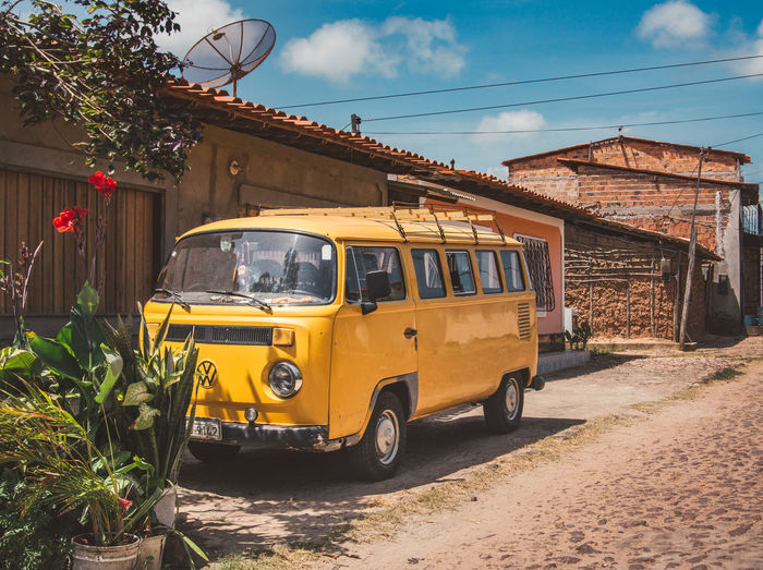 Exploring the ghost town of Alcantara. Adventure Architecture Built Structure Bus Camper Camping Day Discover  Explore Happy Land Vehicle Mode Of Transport Nature No People Outdoors Sky Transportation Travel Travel Destinations Travel Photography Traveling Vacation Volkswagen Wheels Yellow The Street Photographer - 2017 EyeEm Awards EyeEmNewHere Let's Go. Together. Sommergefühle EyeEm Selects EyeEm Selects Connected By Travel An Eye For Travel Visual Creativity Focus On The Story The Traveler - 2018 EyeEm Awards A New Beginning A New Perspective On Life Skate Photography: Same Tricks, New Perspectives
