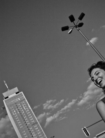Lamppost Monday Streetphoto_bw Black & White Monochrome