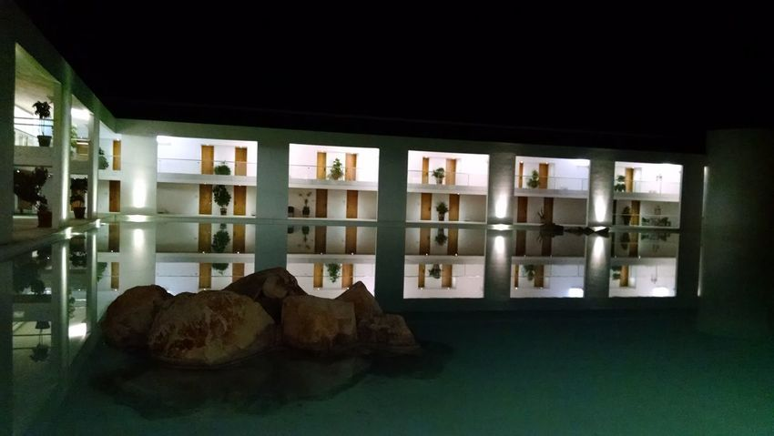 Architecture Reflections In The Water Night Photography No People Night Lights EyeEmNewHere