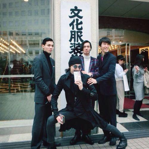 Fashion Bunka Graduation Ceremony Tokyo