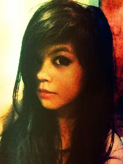 """you're still an innocent"" Self Portrait Emo Is Love Dark Eyes"
