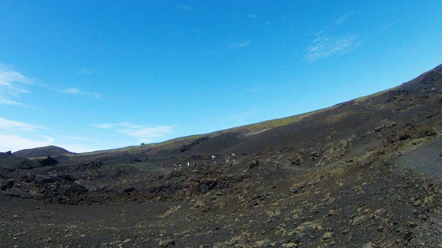 Sierra Negra Vulcan Galapagos Galapagos Islands Vulcan Trekking Mountain Nature No People Outdoors Day Landscape Sky
