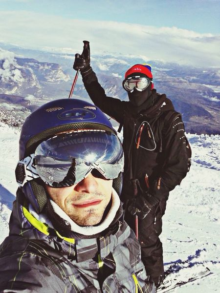 Snowboarding Andalo Italy