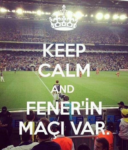 Bugün günlerden Fenerbahçe ! Fenerbahce