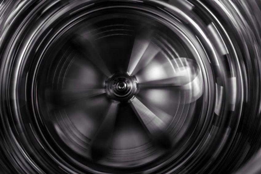 Blackandwhite Taking Photos Random View From Above Washingmachine Spinning Around