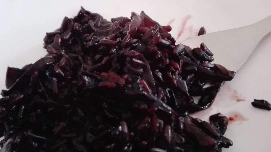 Always Be Cozy Hello World Home Sweet Home Home Food Vegan Food Vegan Black Colour Of Life Detail No Filters Or Effects Rice Black Rice