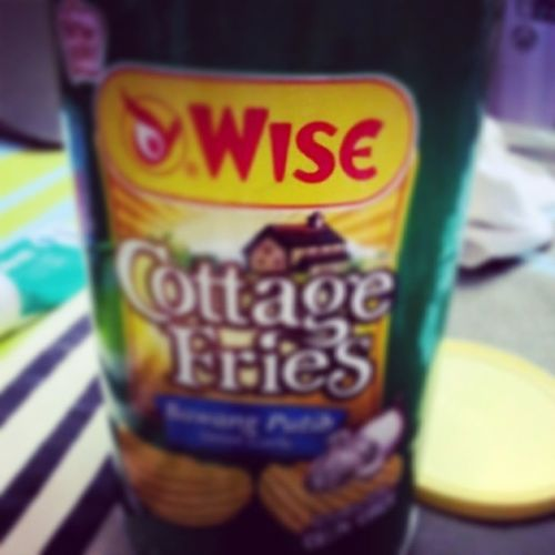 - i know how you hate it whenever i have this.. but i cant stop the taste.. and you.. hmm.. S Whenwillyoubeback .. ♡ evrything reminds me of you.. Cottagefries Favourite wise crinklecut loves.. pls be back soon..♡