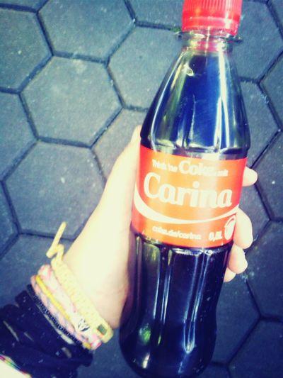 Trink Ne' Coke Mit Carina <3