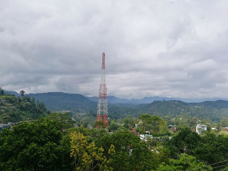 Bandarawela Cityscape Coolest Of The Coolest Cold Morning Cloud - Sky Landscape