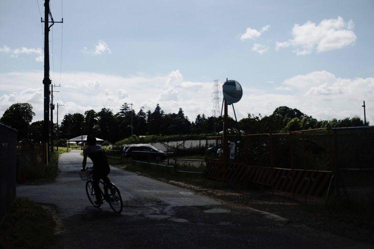 Transportation Bicycle Sky Cloud - Sky Mode Of Transportation Sport Land Vehicle