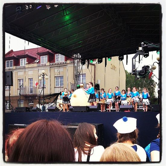 Violinki na scenie