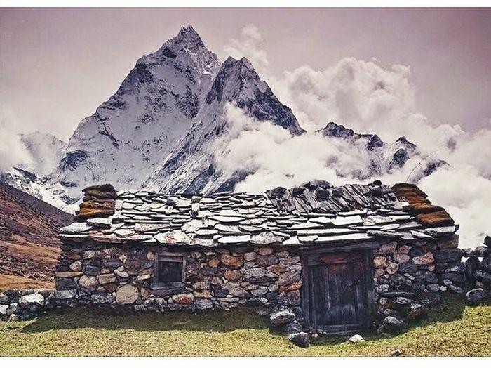Nature Mountain View Beautiful Nepal