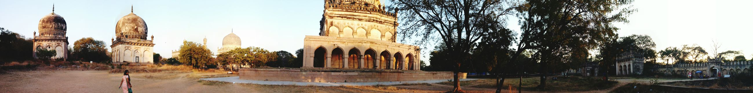 Panorama 7tombs Architecture History Hyderabad