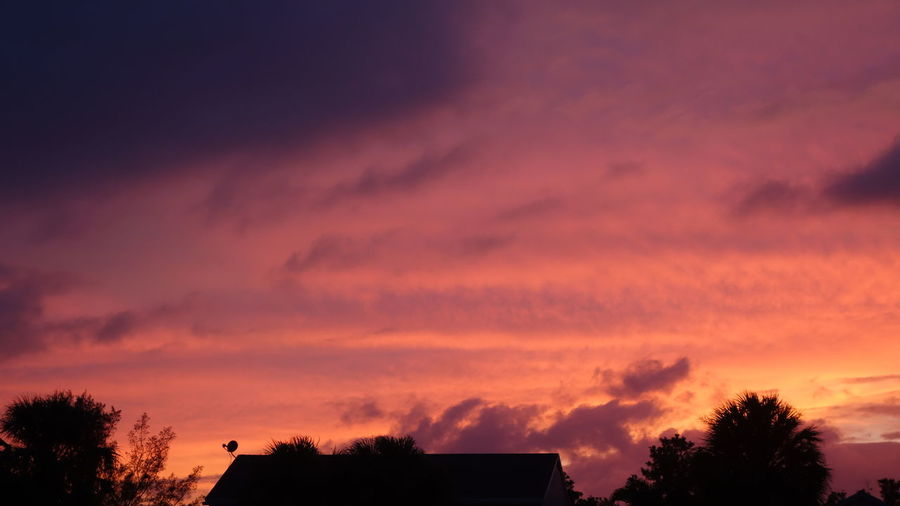 Red Fiery Sky