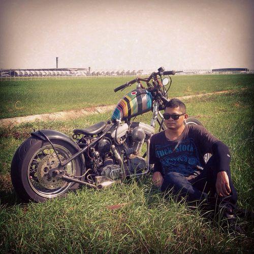 Enjoying Life Relaxing Week End Motocycle