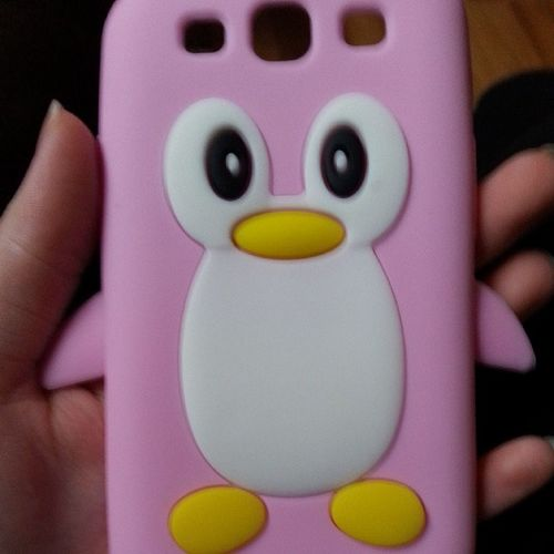 Such a cute Phonecase <3 Galaxys3 Penguin Dawee