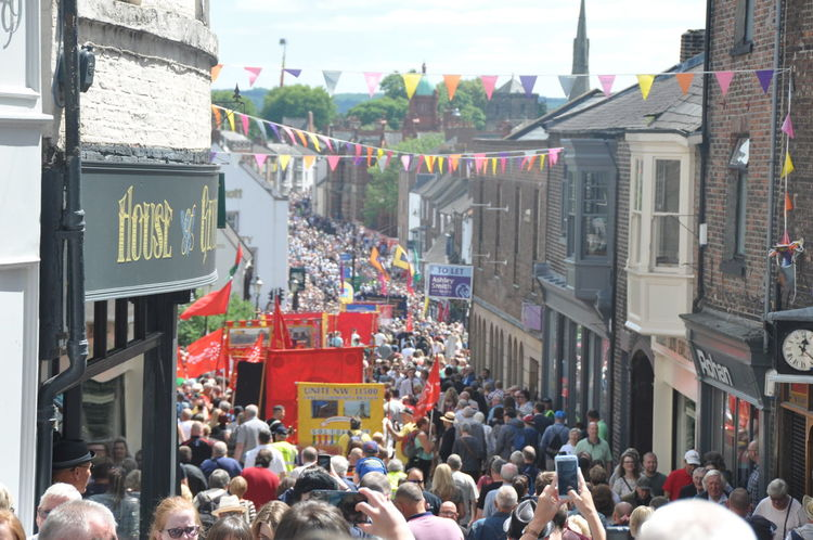 Durham Miners Gala 8th July 2017, Durham Big Meeting County Durham Durham Durham Miners Gala Gala Gathering Labour Party Left Wing Miners Number Socialist