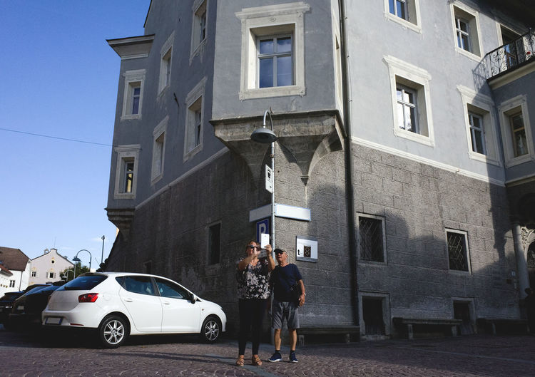 historical background Architecture Building Exterior Built Structure Casual Clothing City City Life City Life Couple Everyday Joy Everyday Lives Fresh On Eyeem  Historical Building Lifestyles Middle Ages Old Town Parking Residential Building Taking Photos Tourist Tourists Urban Landscape People And Places
