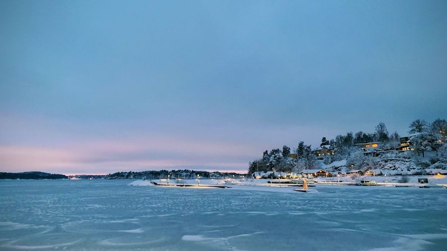 Winter Ice Sea