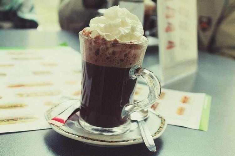 Italian hot chocolate Prague Chocolate Delicious