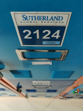 EyeEm Selects Text Guidance Blue Communication Direction No People Day Indoors  Lockers Sutherland Philippines Eyeem Philippines Huaweigr52017 PhonePhotography Workplace