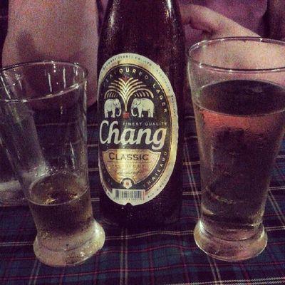 Chang zum Abend - belebend und labend ;)