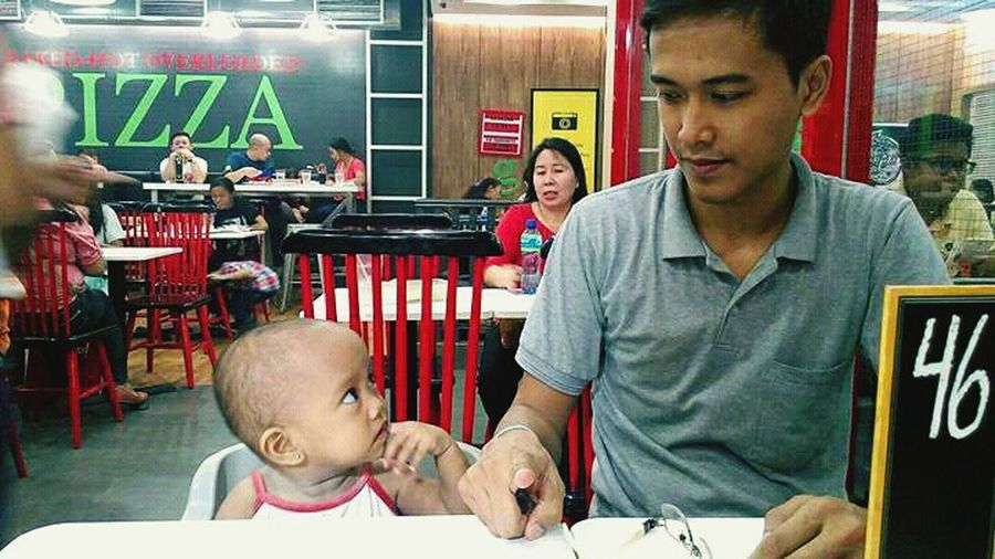 Togetherness Daughter And Father Bonding Moments Eat Out With My Family :)